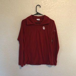 OU Columbia pullover